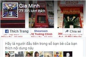 Facebook Gia Minh